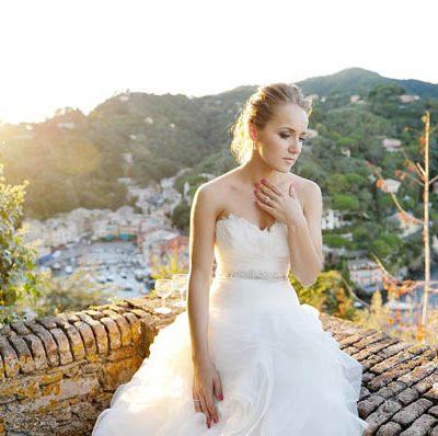 Un matrimonio da favola a Portofino: Daria e Sergey