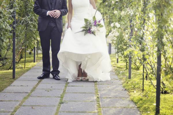 Matrimonio Tema Lilla : Un matrimonio estivo a tema musica elisa e andrea