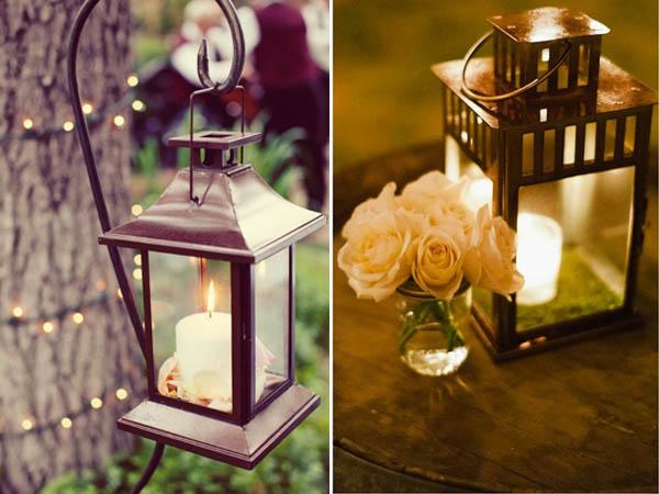 luci matrimonio lanterne