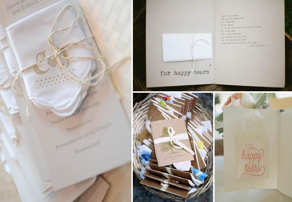 programmi matrimonio fazzoletti