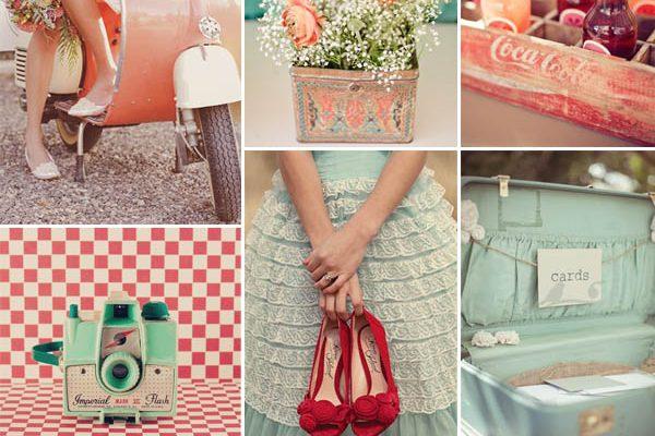 Inspiration board  Matrimonio retrò tra anni  50 e  60 4fc048de0e3