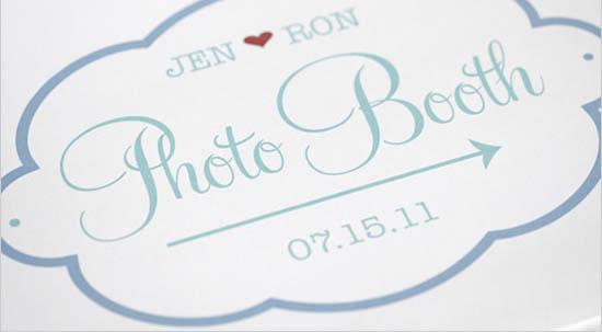 cartello photo booth stampabile