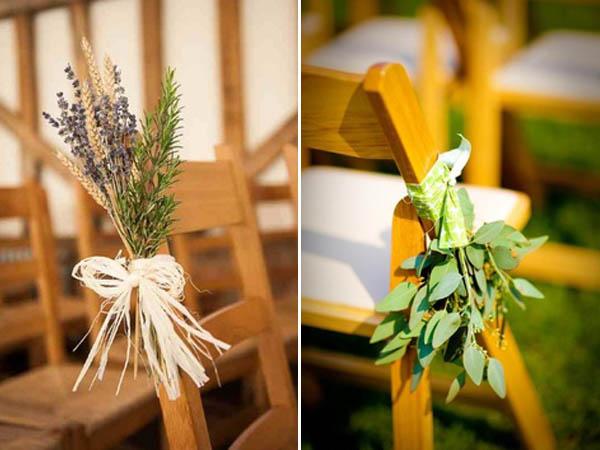 decorazioni navata erbe aromatiche