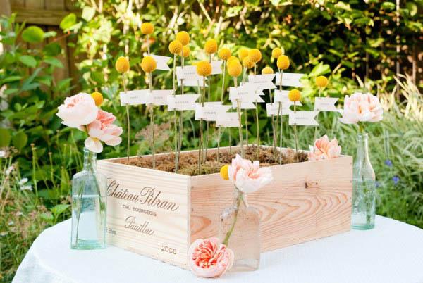 spesso DIY} Escort card fai da te   Wedding Wonderland NJ38