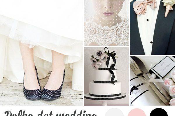 {Inspiration board} Matrimonio a pois