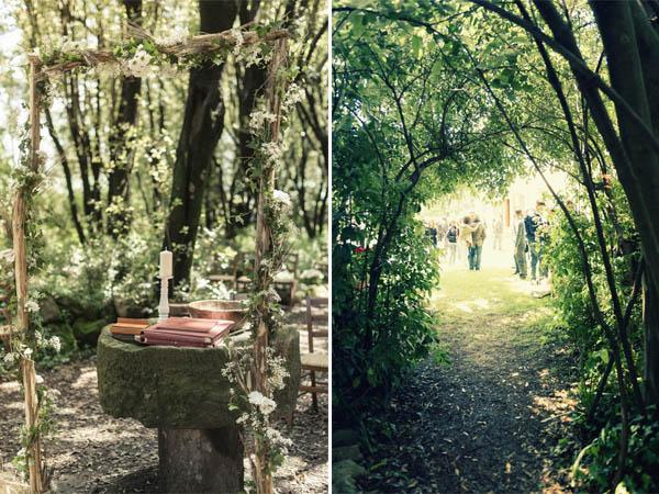 Matrimonio Bosco Toscana : Un matrimonio rustico e handmade agnese nicola