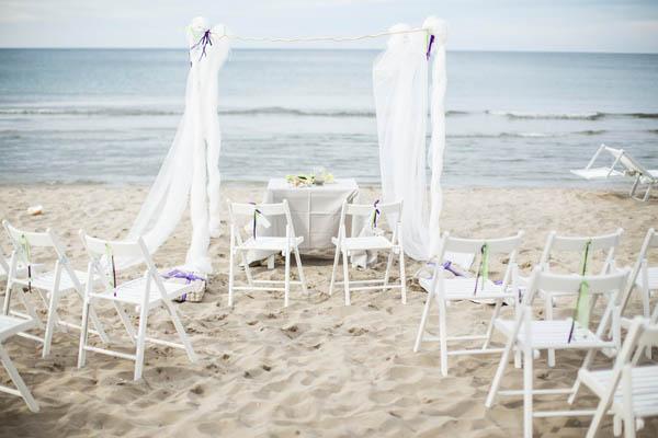 Matrimonio Spiaggia Ravenna : Allestimento matrimonio sulla spiaggia wedding wonderland