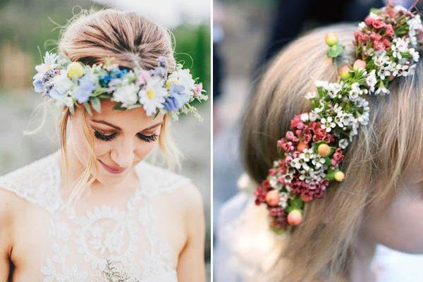 Sei idee per indossare fiori nei capelli