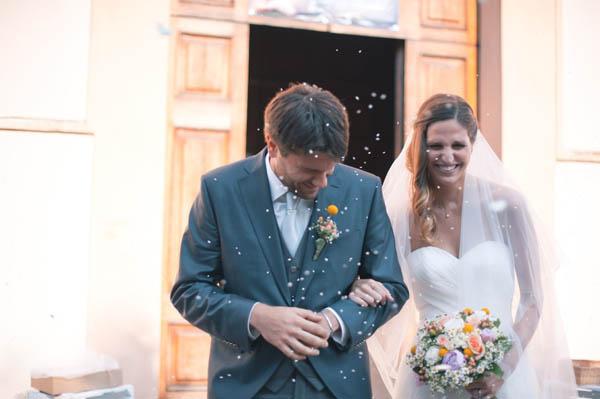 lancio del riso, matrimonio country chic