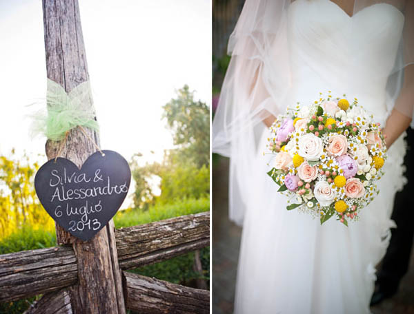 Matrimonio Country Chic Verde : Un matrimonio country e handmade