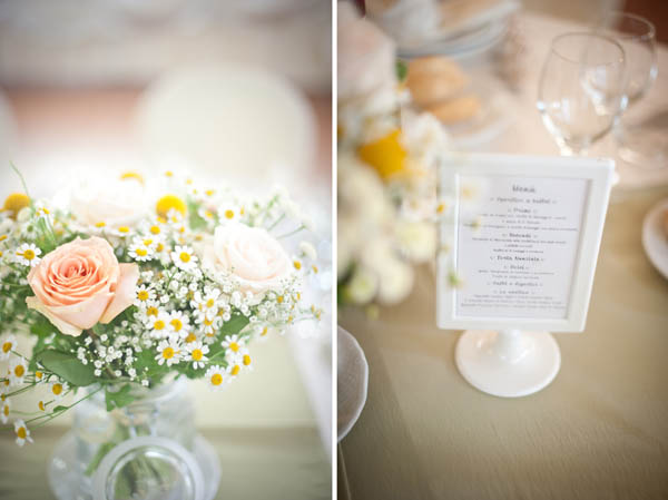 Centrotavola Matrimonio Country Chic : Un matrimonio country e handmade