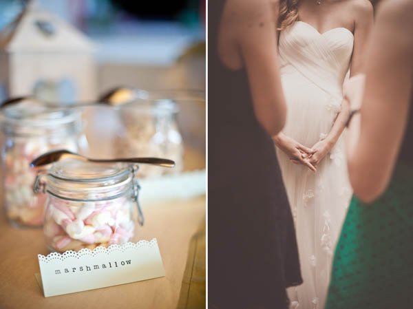 candy buffet country chic