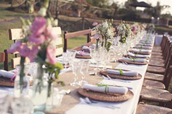 Tema Matrimonio Country Chic : Best of ricevimenti