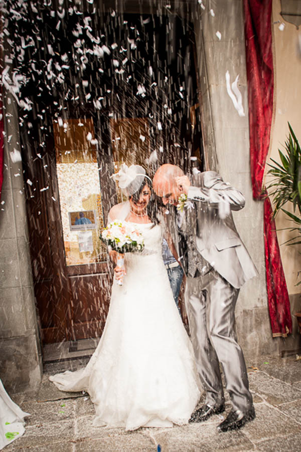 Matrimonio Tema Fucsia : Un matrimonio informale verde e fucsia serena francesco