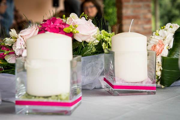 Matrimonio Tema Bianco : Un matrimonio informale verde e fucsia serena francesco
