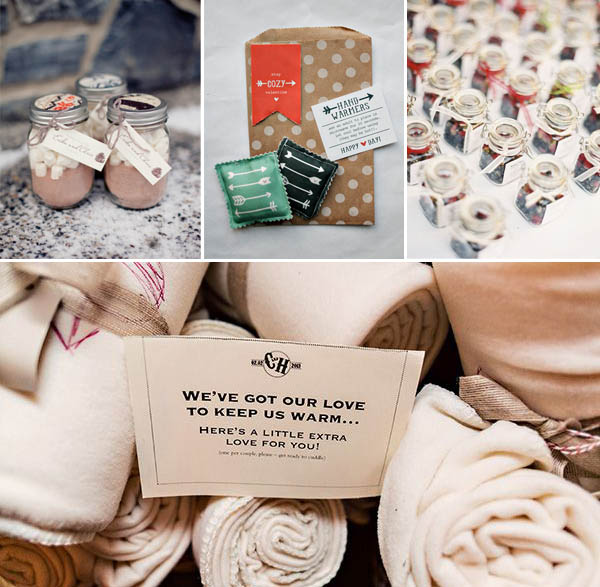 idee matrimonio autunnale invernale bomboniere