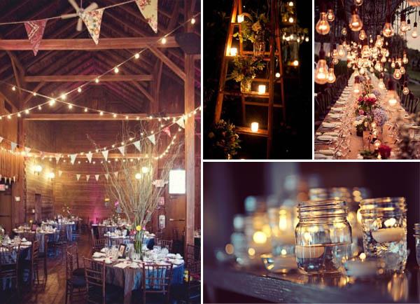 idee matrimonio autunnale invernali luci