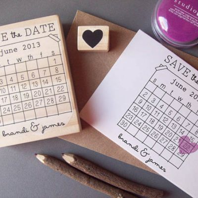 {DIY} 10 Save the date fai da te