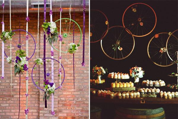 Matrimonio Tema Floreale : Matrimonio in bicicletta