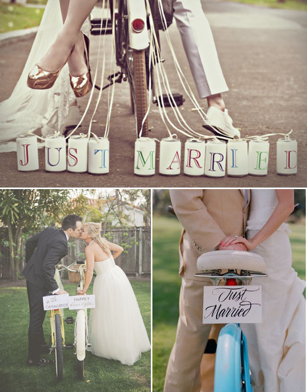 Matrimonio Tema Jeans : Matrimonio in bicicletta