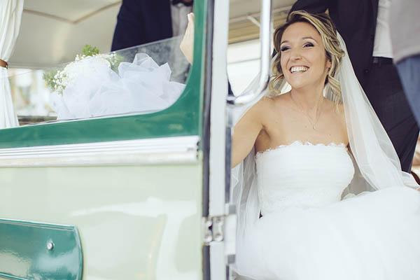 autobus vintage matrimonio