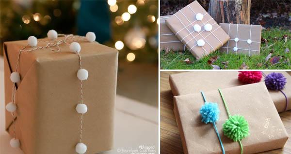 confezioni regalo pom pom