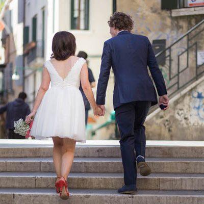 Un matrimonio per due a Venezia: Jo e Lee