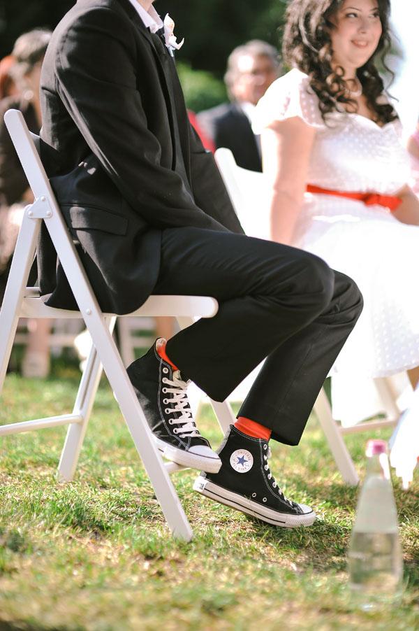 sposo in all star converse