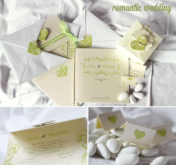 Matrimonio Tema Romantico : Partecipazioni di nozze a tema con intodesign