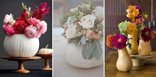zucche matrimonio fiori