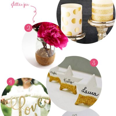 {DIY} Decorazioni e accessori glitter fai da te