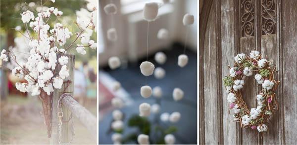 decorazioni natalizie cotone