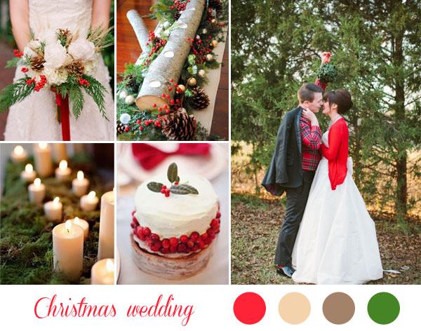 Matrimonio Natale Palermo : Inspiration board verde e rosso per un matrimonio