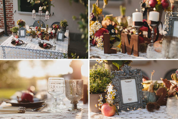 Matrimonio Country Chic Autunno : Inspiration shoot un matrimonio rustic chic in autunno
