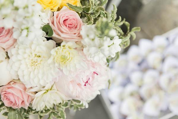 summer pastel wedding