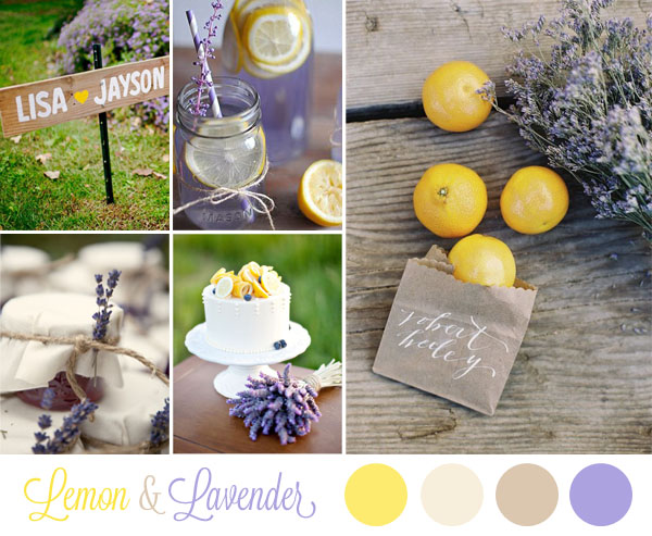 Matrimonio Giallo E Azzurro : Inspiration board limoni e lavanda wedding wonderland