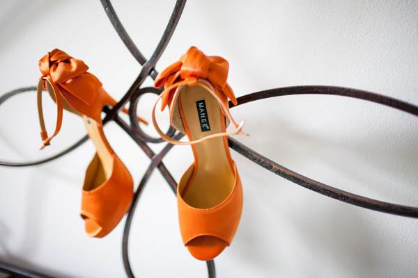 Scarpe Arancioni Sposa.Un Matrimonio Picnic Arancione E Blu Laura E Cristiano Wedding