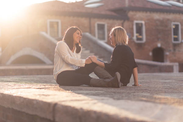 {Newlywed session} Due spose a Venezia: Courtney e Kari
