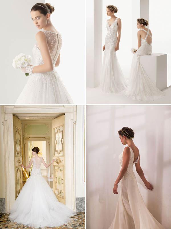 abiti da sposa scollatura schiena trend 2014