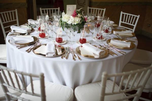 Un matrimonio ispirato alla natura - Addobbi tavoli per 18 anni ...