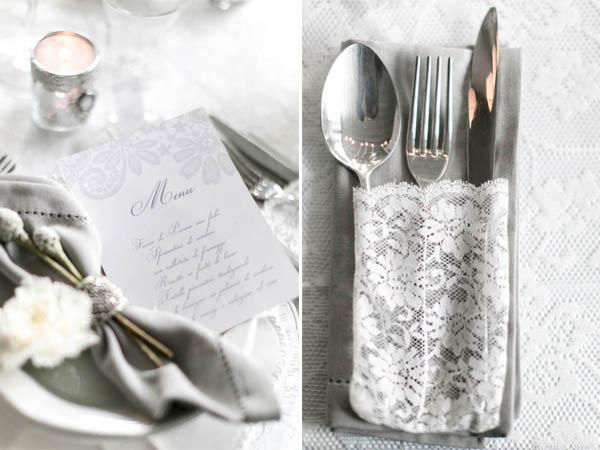 Inspiration shoot} Matrimonio invernale in bianco e argento  Wedding ...