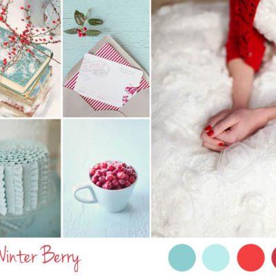 {Inspiration board} Matrimonio invernale in rosso e azzurro