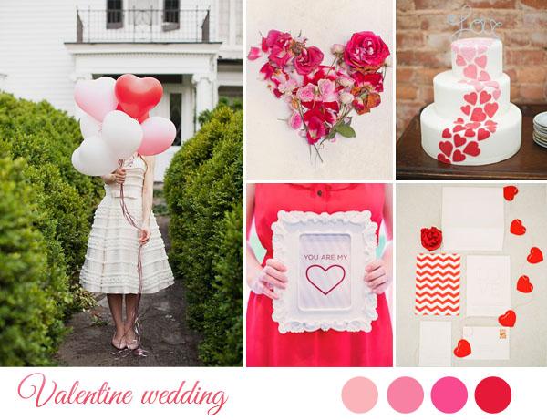Matrimonio Tema Rosso : Inspiration board matrimonio a san valentino wedding