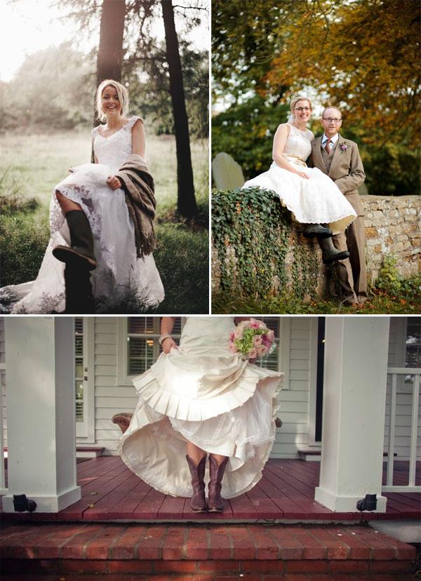 sposa in stivali