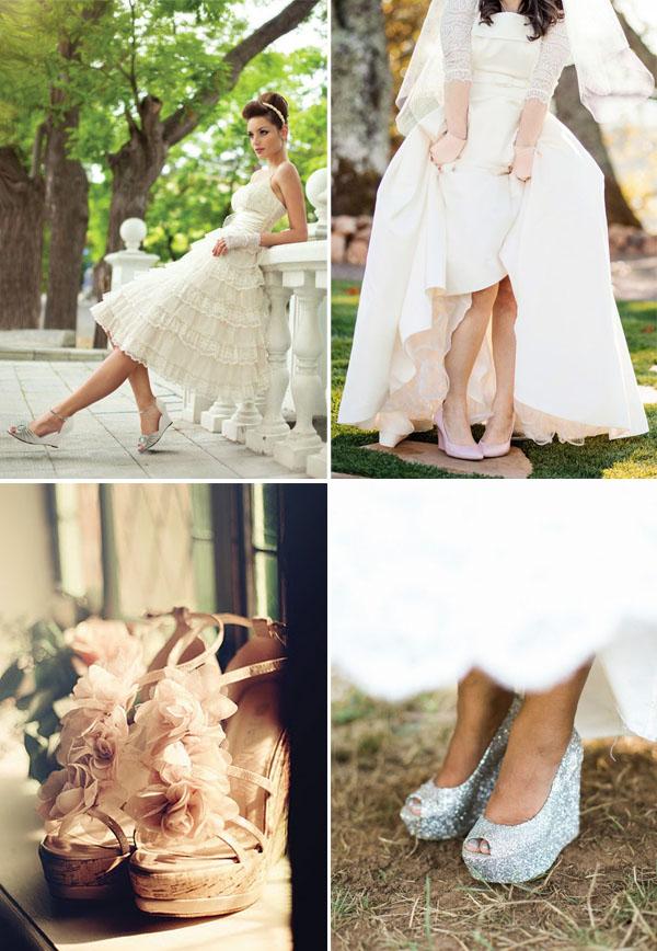 spose scarpe con la zeppa