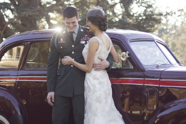 {Inspiration shoot} Matrimonio anni '40