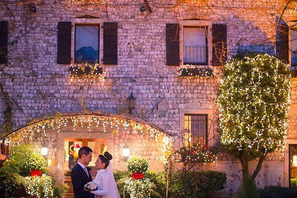 Un matrimonio natalizio: Monica e Pietro