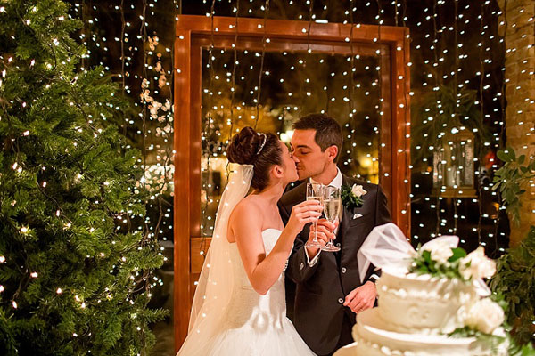 Matrimonio Tema Infusi : Un matrimonio natalizio monica e pietro wedding wonderland
