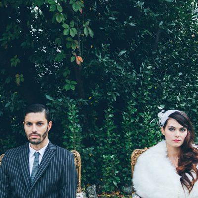 {Inspiration shoot} Matrimonio anni '20