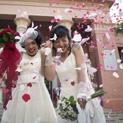 Due abiti da sposa per un matrimonio spagnolo: Elisabeth e Angelina